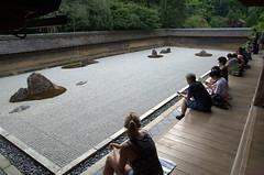 Zen at rock garden Ryōan-ji
