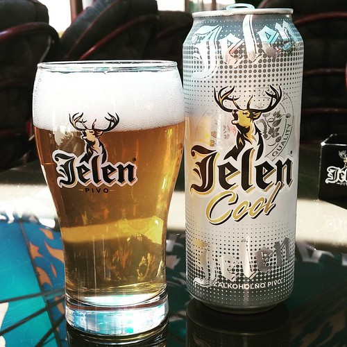 Jeleń Cool #serbia #srbija #kladovo #balkan #balkans #visitbalkans #ig_balkan #beer #beerporn #drinks #nonalcoholic #travel #traveling