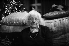 Win', at 96! (RoryO'Bryen) Tags: win granny christmas portrait roryobryen copyrightroryobryen selfdeveloped standdeveloped ilforddelta400 blackandwhite leicasummiluxm50f14asph stef retrato