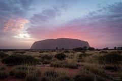 Uluru (Ayers Rock) (Thibaud Chanfray) Tags: australia australie oz aussie uluru ayersrock outback sunrise symbol icon famous exploretheworld roadtrip greatphotographers