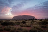 Uluru (Ayers Rock) (Thibaud Chanfray) Tags: australia australie oz aussie uluru ayersrock outback sunrise symbol icon famous exploretheworld roadtrip greatphotographers