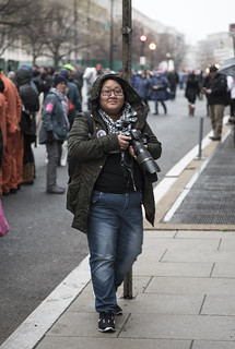 Palina Prasasouk Takes Photos Outside the Presidential Inauguration of Donald Trump