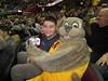 NETS00035 (Moondog Mascot) Tags: loans arena 12232016 moondog cavs nets qarena