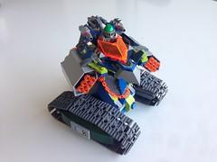 Aarons' Overseer (LegoScarz) Tags: moc nexoknights aaron tank scifi lego