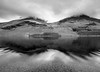 Buttermere reflections (alf.branch) Tags: lakes landscape lakedistrict lake lakesdistrict westcumbria water refelections reflection buttermere mono bw blackandwhite calmwater ripple ripples mountains movement motion olympus olympusomdem5mkii zuiko ziuko918mmf4056ed alfbranch