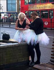 Frock fettling - DSCF0032a (normko) Tags: london west notting hill gate kiwi ballet skirt tutu waitangi day circle line pub crawl new zealand
