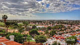 View of Maspalomas, Las Palmas, Canary Islands, Spain - 8784