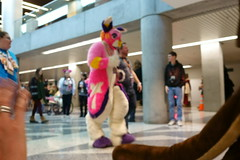 FCParade2017_03_-20170114-00066 (Kory / Leo Nardo) Tags: fur furry fursuit suiting dance party dj con convention further confusion fc san jose marriott center parade walk march fc2017 2017 pupleo kory