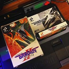 Gradius II for Famicom.  #gradius #gradius2 #konami #famicom #familycomputer #nintendo #videogames #retrogaming #ファミコン #グラディウス (djdac) Tags: gradius gradius2 konami famicom familycomputer nintendo videogames retrogaming ファミコン グラディウス