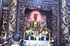 Sanctum sanctorum of the main shrine at the Vinh Trang pagoda (shankar s.) Tags: southeastasia seasia vietnam saigon hochiminhcity hcm southvietnam mekongdeltavietnam tiềngiangprovince mytho vinhtrangpagoda religiousshrine placeofworship houseofprayer buddhism buddhistfaith taoism buddhisttemple templeinterior shrineinterior sanctum sanctumsantorum buddhastatue halo buddhaimage templedeity mainhall