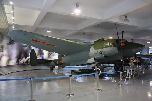 China no marks Tu-2S, China Aviation Museum, Chinese, Xiaotangshan 30th October 2016