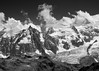 Alpes - Pic du Midi (Eled) Tags: alps frenchalps picdumidi bw france フランス アルプス モノクローム alpes coldanterne hautgiffre