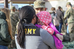 010517_A1_Falcon Paratroopers bid farewell, head to Iraq (FortBraggParaglide) Tags: paratrooper 2ndbrigadecombatteam 82ndairbornedivision fortbragg nc deployment operationinherentresolve usarmy unitedstates