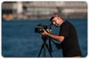 Videographer: Milsons Point, Sydney Harbour (Craig Jewell Photography) Tags: xha1 bokeh camera canon focus man milsonspoint photographer sunny sydney tripod video videographer ¹⁄₄₀₀₀sec f28 ‒1ev canoneos30d iso100 20100410160805mg7144cr2 craigjewell