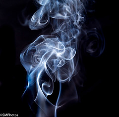 Smoke-6 (SMPhotos2548) Tags: smoke incense art smokeart macro