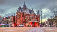 In de Waag (Skylark92) Tags: nederland netherlands holland amsterdam noordholland centrum centre nieuwmarkt plein square cafe restaurant de waag