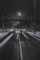 2017_01_14(19) (bas.handels) Tags: heerlen street night longexposure longexpo le snow sneeuw winter urban architecture bridge brug fuji fujixt1 xt1