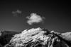Passage du rêve (PaxaMik) Tags: neige montagne valmeinier snow hiver winter nuage cloud rêve dream léger légèreté light noiretblanc noir n§b mountain alpes