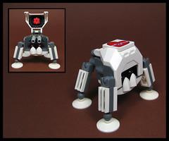 Bulldog (Karf Oohlu) Tags: lego moc microscale walker bulldog afv