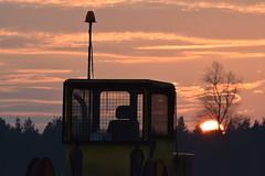 Welland Sunset (Pegpilot) Tags: welland gliding lyveden sunset