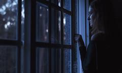 340/366: cold nights (Andrea · Alonso) Tags: me selfportrait autorretrato 366 365 winter window ventana invierno cold frio reflection reflejo woman girl