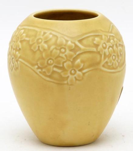 ROOKWOOD #2589 (XXXII) yellow vase ($156.80)