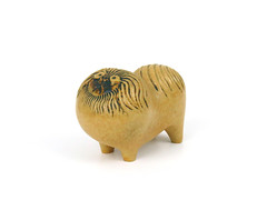 Kennel Series Pekingnese (altfelix11) Tags: pottery artpottery ceramics artceramics swedishpottery swedishceramics scandinavianpottery scandinavianceramics lisalarson gustavsberg pekingnese dog collectible collectable