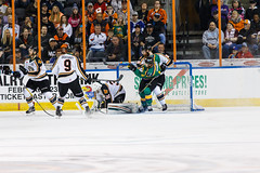 "Missouri Mavericks vs. Quad City Mallards, January 21, 2017, Silverstein Eye Centers Arena, Independence, Missouri.  Photo: John Howe / Howe Creative Photography • <a style=""font-size:0.8em;"" href=""http://www.flickr.com/photos/134016632@N02/32527847805/"" target=""_blank"">View on Flickr</a>"