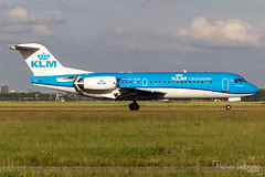 KLM Cityhopper Fokker 70  |  PH-KZP  |  Amsterdam Schiphol - EHAM (Melvin Debono) Tags: klm cityhopper fokker 70 | phkzp amsterdam schiphol eham melvin debono spotting canon 7d 600d airport airplane aviation aircraft plane planes netherlands holland polderbaan