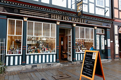 Huth's delicatessen, a time journey into the 19th century. The fragrance alone is worth a visit. (Wallus2010) Tags: canon eos550d sigma 18250 reisezoom celle germany altstadt fachwerk feinkost zeitreise tanteemmaladen kolonialwaren