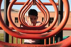 IDIOMS-2 (abigailfuentes) Tags: playground childhood portrait swings