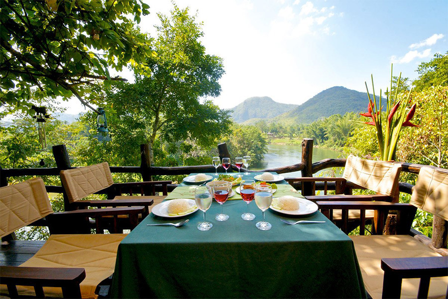 Most glamping experiences will offer superb cuisine with a view