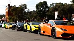 Lamborghini Lineup (Twang Photography) Tags: italian nissan 911 huracan ferrari 45 german porsche perth bmw m3 lamborghini twinturbo westernaustralia gallardo gtr 360modena lamborghinigallardo porschegt3 bmwm ferrari360modena supercarsunday worldcars r35gtr aventador 458italia ferrari458italia lamborghiniaventador m235i 458speciale dmcluxury