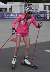 Therese Johaug xx (askyog) Tags: pink legs therese rollerski johaug theresejohaug