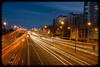 Bradfield Highway at Evening Rushhour from High Street , North Sydney (Craig Jewell Photography) Tags: light cars lights highway traffic sydney trails australia headlights f10 nsw newsouthwales rushhour lighttrails 40mm harbourbridge northsydney sydneyharbourbridge 2014 iso50 bradfieldhighway 50sec canoneos1dmarkiv ef40mmf28stm 33°5031s151°1239e filename20140619171508x0k0978and6moretif