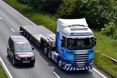 WS Transportation 6X226 PK14 UWR A19 Sunderland 30/6/15 (CraigPatrick24) Tags: road truck cab transport lorry delivery vehicle trailer scania logistics sunderland ws a19 lowloader stobart scaniar450 wstransportation 6x226 pk14uwr a19sunderland