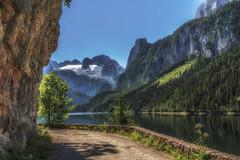 Am See (Fotos4RR) Tags: mountain lake mountains berg austria see österreich berge oberösterreich salzkammergut upperaustria gosausee flickrbronzetrophygroup