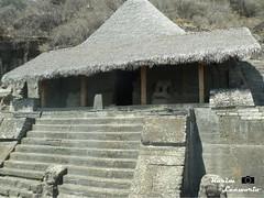 Templo guerrero. (kleeworio) Tags: mexico montaa templo malinalco mexica arqueologia arqueologica monolitico