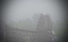The Celebration's Over (kbbrawley5) Tags: fog nikon mo missouri amusementpark rollercoaster branson celebrationcity d3200 kurtbrawley