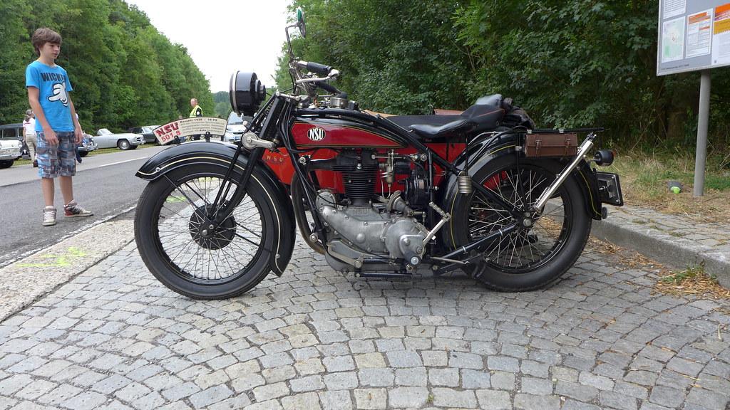 b9dbf4dd NSU 501 S Sidecar 1928 500cc OHV (Michel 67) Tags: classic vintage motorbike