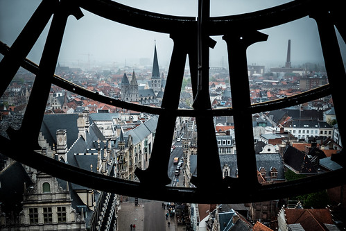 Belfry of Ghent, Belgium