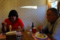 Frank and Phyllis (nicksav129) Tags: family dinner canon italian goofballs