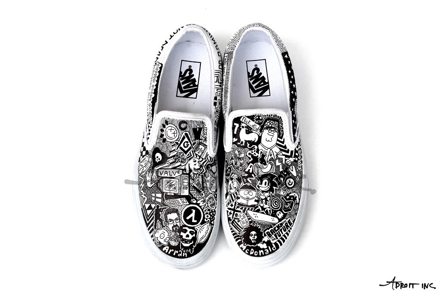 1e682ca626 Custom Shoes Top (Chelsea Kirchoff) Tags  art illustration design shoes  artist drawing sneakers