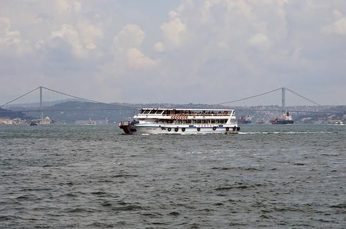 Ferry across the Bosphorus