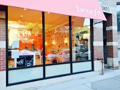 Remodeled Benefit Store. August 6, 2015. (southportcorridorchicago) Tags: city urban chicago retail shopping corridor neighborhood cubs wrigley lakeview southport wrigleyville southportcorridor
