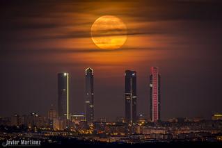 Luna no tan Azul.  2ª Luna de Julio 2015 CTBA