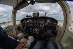 Interior de un Piper Tomahawk (tincho.uy) Tags: piper tomahawk interior aereonave avion plane uruguay aereopuerto carrasco