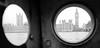 London Peep Hole (PM Kelly) Tags: london peep hole peephole bnw bw blackandwhite blackwhite blancoynegro street photography big ben travel tourist view thames parliment