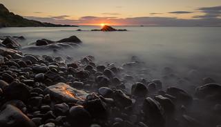 Wet Rocks at Dawn