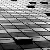Colorium (morbs06) Tags: colorium düsseldorf hafen abstract architecture building bw city cladding curtainwall diagonal facade geometry light lines office pattern repetition shadow square stripes urban windows